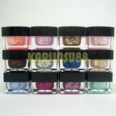Choice: Glitter / Solid / Milky / Translucent 12 Mix Colors UV Gel Nail Art Set   eBay