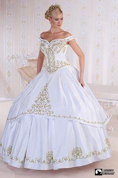 Elegant Wedding Dress, Formal Wedding, Wedding Party Dresses, Wedding Attire, Mexican Quinceanera Dresses, Fantasy Gowns, Disney Princess Dresses, Quince Dresses, Festival Outfits