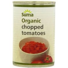 Shop Suma Organic Chopped Tomatoes 400 g (Pack of Vegan Recipes, Vegan Food, Packing, Organic, Tomatoes, Vegetables, Healthy, Health Products, Amazon