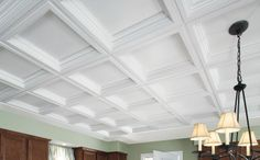 Easy Elegance Ceilings by Armstrong coffered ceilings