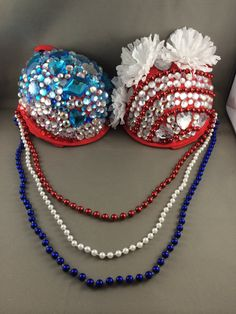 American Dream Rave Bra by DreamInJade on Etsy, $90.00