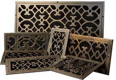Air Return Cover   bronze custom air grill covers, custom bronze air register covers ...