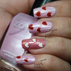 zoya nail art | zoya thandie nails with tutorial simple nail art design with zoya ...
