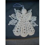 Hanging Crochet Angel