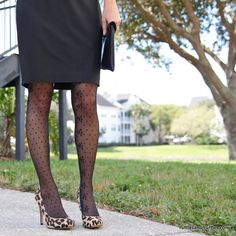 Style: dotted hosiery by Cynthia Rowley, plus a roundup of patterned tights!