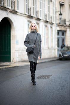 Knitted dress / Anna Sofia - Style Plaza