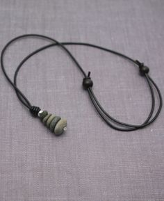 Zen Cairn Necklace from Buddha Grove