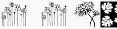 Flower & Leaf doodles