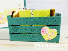OSAT Blog Hop Stampin' Up! Wood Words by Jeanna Bohanon 4