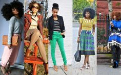 Five Fashion Bloggers with Natural Hair We Love