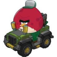 Terence with his Beep Beep