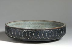 Early bowl made by HARRISON McINTOSH in 1961