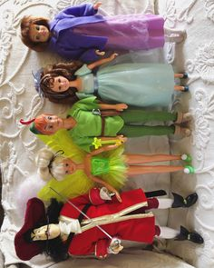Peter Pan dolls  #disney #peterpan #1990 #neverland #doll #ootd #friday #photo #photography #french #guy #collection #my #dolls #vintage #vintagedoll #1990s #mattel #hasbro #matteldoll #barbie #barbiedolls #tinkerbell #wendy #captainhook #jane #gay #collectibles #love #disneydoll        Hasbro Toy Toys Action Figures Games Fun Remember This