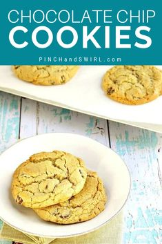 When it comes to Chocolate Chip Cookies, why choose between chewy and crispy when you can have both with this easy recipe! Easy Summer Meals, Healthy Summer Recipes, Healthy Snacks, Amazing Cookie Recipes, Real Food Recipes, Dessert Recipes, Desserts, Easy Make Ahead Appetizers, Best Cookies Ever