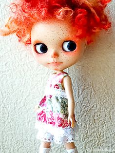 One Customized OOAK Blythe Doll No4 by Dakawaiidolls on Etsy, $540.00