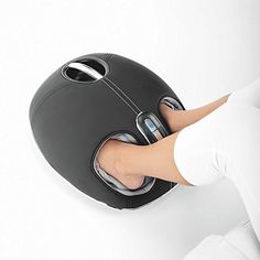 Shiatsu Foot Massager with Heat - deep-kneading rollers help relieve tightness & stimulate reflexology zones of feet. Air compression massage squeezes away tension & helps makes feet feel renewed. Belly Dancing Classes, Massage Machine, Massage Benefits, Acupuncture Benefits, Health Benefits, Foot Massage, Massage Chair, Neck Massage, Shopping