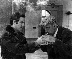 François Truffaut and Luis Buñuel (1969)
