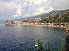 traveling in the myth of Calabria, sea, nature and Scilla.