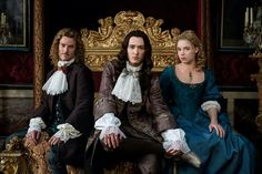 Chevalier, Philippe and Liselotte in season 2 of Versailles