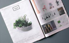 The Department Store Newspaper by Brogen Averill, via Behance