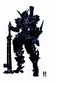 Battlarium , The Colossus of Maurinus Robot Concept Art, Armor Concept, Arte Robot, Futuristic Armour, Gundam Art, Mecha Anime, Knight Armor, Robot Design, Cyberpunk Art
