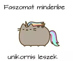 unicorn, magyar, and pusheen kép Pusheen Cute, Everything Funny, Life Is Hard, Grumpy Cat, Funny Fails, Cat Memes, Funny Moments, Cute Wallpapers, Puns