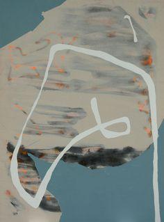 Tira Walsh, Closer, mixed media on canvas, 1770mm x 1330mm, ©, 2016