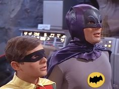 Campy as it was, I have a major soft spot for the old Batman show from the sixties.  When I was a kid I thought those guys were the coolest.