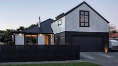 Shortlisted for an award this week, this stunning Sandringham home grew out of a former state house. Garage Extension, Garage Loft, House Extensions, Design Awards, Entrance, Living Spaces, Cool Designs, Shed, Outdoor Structures