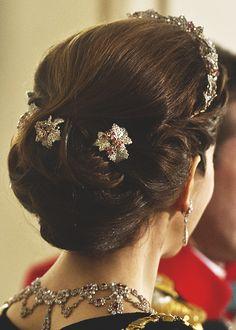 Danish Royal Family! — gabriellademonaco:   Crown Princess Mary's hair...