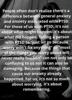 PTSD - my EMDR therapy has helped a lot with this