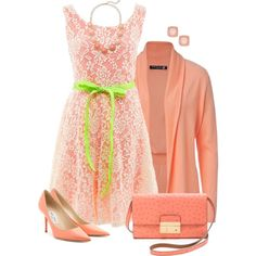 Spring Dress, created by daiscat on Polyvore