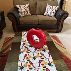 This beautifully vibrant table runners will make any space feel alive! All the colors and designs are sure to bring a little bit of Africa to any space. Excellent choice for table decor for an African theme home decor or party.With 2 differe. Main Colors, All The Colors, African Theme, African Home Decor, Printed Curtains, Different Fabrics, Table Linens, Event Decor, Fabric Patterns