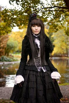 Gothic Lolita isn't only in Japan