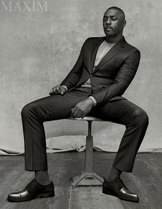 Idris Elba for Maxim Magazine