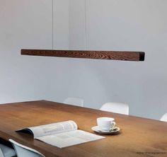 Hänge-Lampe / modern / für Innenbereich / Holz Casablanca Leuchten GmbH Distribution millelumen
