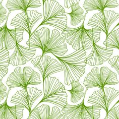 Jessica Swift Gingko Green Leaf Would Make A Lovely Feature Wall