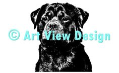Our Rottweiler Design || Original and one of a kind || Pattern can be used for everything and every cutting machine || ♡