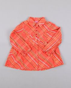 Blusa manga larga de rayas talla 4 años marca AKR Kids http://www.quiquilo.es/catalogo-ropa-segunda-mano/blusa-manga-larga-de-rayas-color-naranja-marca-akr-kids.html