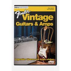DVD Fender Vintage Guitar & Amps, 19,90 €