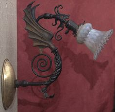 This dragon sconce is bad ass!