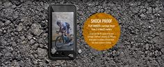 SHOCK PROOF - PLAY HARDER | survives drops from 6.6 feet/2 meters - Drops are the #1 cause of device damage. LifeProof exceeds US Military drop specs to protect iPhone from the most common mishap. Play Hard, Specs, Iphone 6, Military, Drop, Military Man, Army