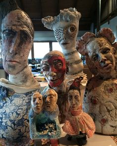 travelling companions - ceramic sculpture veronicacay