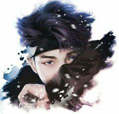 RapMonster  BTS desenho Nanjoom