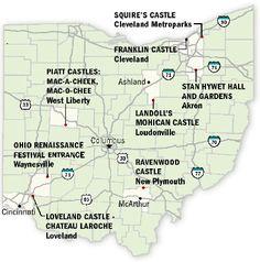 Castles to Tour in Ohio