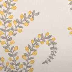 print collection from @John Robshaw Textiles for duralee #fabric #linen #cotton #yellow