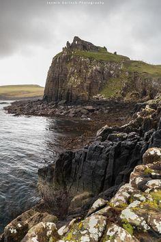 Duntulm Castle ruins, Isle of Skye, Scotland.