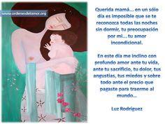 ¿Reconoces el sacrificio de mamá? www.ordenesdelamor.org