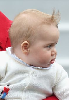 The Duke and Duchess of Cambridge embark on their first Royal tour with Prince George.