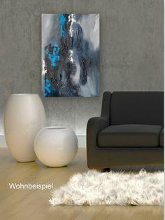 Neißer XL Gemälde abstraktes Bild auf Leinwand von Bildwerke